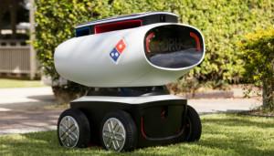 Робот-доставщик пиццы!