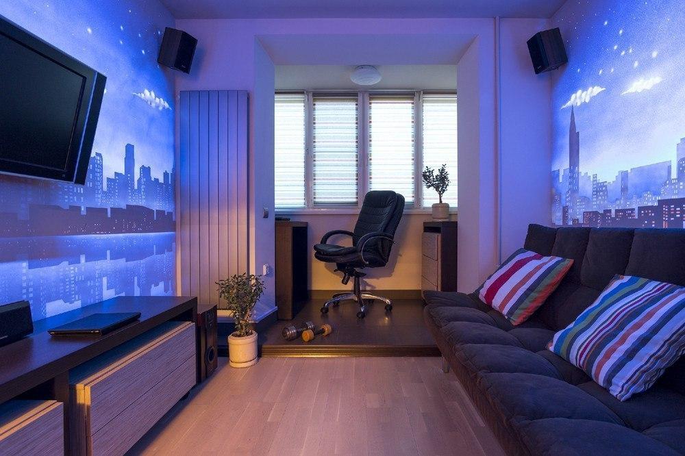 Картинки по запросу светящаяся краска на стенах квартиры
