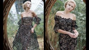Нет денег на платье? Не беда. Просто нарисуй его!