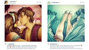 Инстаграм диснеевских героев: За кулисами сказки