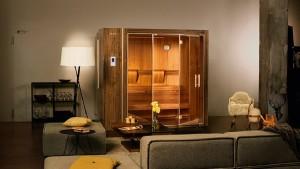 Домашняя сауна Klafs в виде шкафа