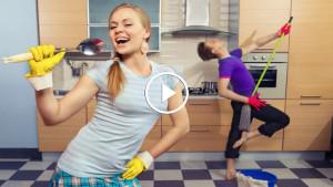 Как быстрее справиться с домашними делами!