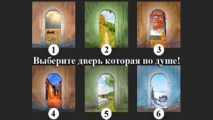 Выберите дверь, которая вам по душе