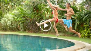 Как научиться эффектно запрыгивать в бассейн
