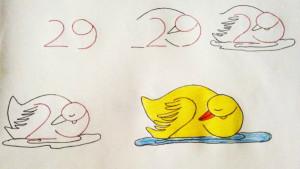 Как научить малыша рисовать: используй цифры для творчества. Уже хочу попробовать!
