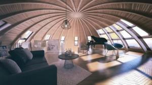 Российский Проект «Скайдом» Поражает Воображение Своим Дизайном!