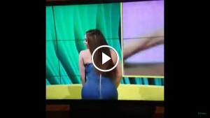В прямом эфире у Латиши Грейс расстегнулось платье
