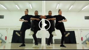 Крутой зеркальный танец