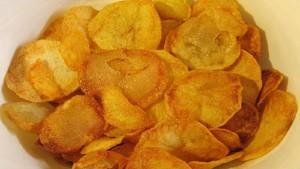 Рецепт вкусных чипсов в микроволновке!
