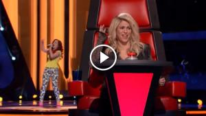 Девушка спела песню Loca настолько оригинально, что сама Шакира повернулась к ней!