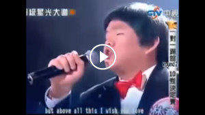 Тайваньский мальчик поет точь-в-точь как Уитни Хьюстон