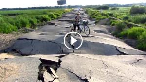 В России обнаружили дорогу, не требующую ремонта!!!