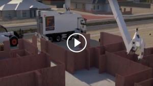 Робот-каменщик теперь может выкладывать 1000 кирпичей в час!