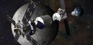 NASA подумывают о международной базе на орбите Луны