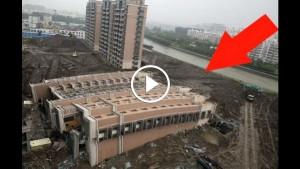 Рядом с их домами строили жилую 13-этажку. Выйдя с утра на балкон, люди увидели жуткую картину…