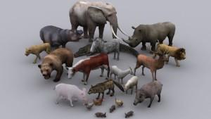 Запущен проект Digital Life, цель которого создать 3D-модели всех существующих животных