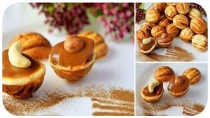 Вкусненькое печенье «Орешки»