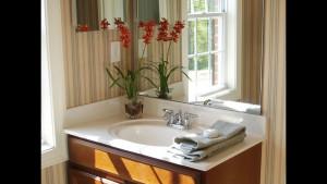 Выбор обоев для ванной комнаты