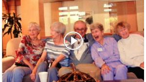 Дедуля хотел убежать из дома престарелых, но его остановили. Далее случилось непредсказуемое…