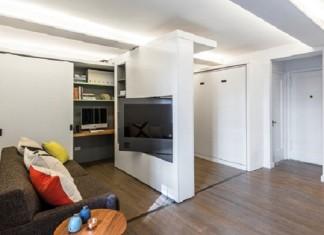 Квартира из 5 комнат на 36 кв. метрах