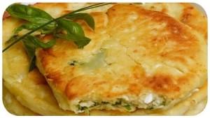 Лепешки сырные на кефире
