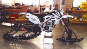 Мотоцикл-вездеход Christini AWD II, для которого и зима не преграда