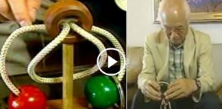 10 лет японский дедушка не мог разгадать эту головоломку