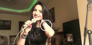 Красивая армянка поет