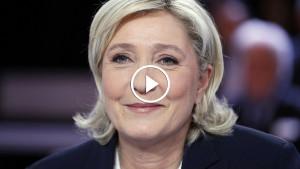 Предвыборный ролик Марин Ле Пен стал хитом социальных сетей