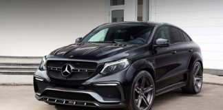 Mercedes GLE Coupe в обвесе Inferno
