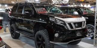 Toyota Land Cruiser Prado обвесу Kuhl Racing