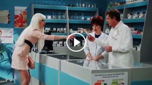 Как блондинка покупала таблетки для ума!