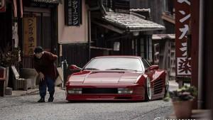 Как выглядит тюнинг Ferrari по-японски