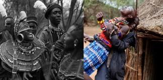 впервые исполняют супружеский долг в африканских племенах