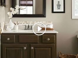 Быстрый ремонт в маленькой ванной комнате