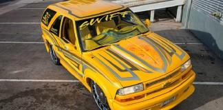 Кастомный проект на базе Chevrolet Blazer