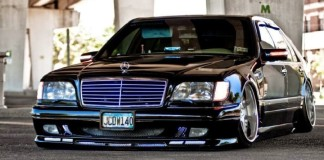 Mercedes-Benz W140 в стиле VIP