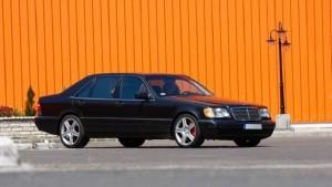 Самый быстрый в мире Mersedes W140 стоит 16,5 млн рублей