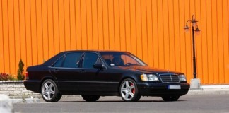 Самый быстрый в мире Mersedes W140