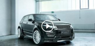 Тюнинг Range Rover Evoque 2017 от Hamann