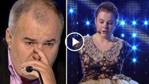 Когда эта девочка без рук вышла на сцену и начала петь, судьи не сдержали слёз. Дальше произошло немыслимое…
