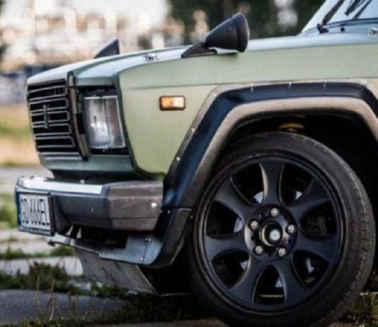 Автомобиль для дрифта на базе ВАЗ-2107