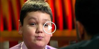 Мальчик отвечает на вопросы Урганта