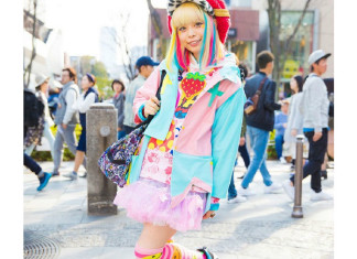 Стильные наряды японских модников