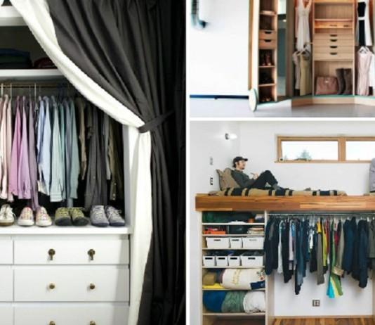 практичных идей для мини-гардеробной