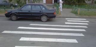 Суровые российские пешеходные переходы